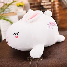 WYZHY  Down cotton soft rabbit doll plush toy home bedside decoration to send friends and children gifts 80CM