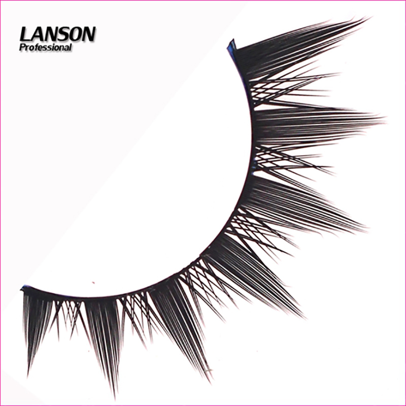 Beauty Essentials Smart Marlliss Black Tapered Thick Full Strip Lashes Silk Fake Eyelash 10 Pairs Natural Sparse Cross Eye Lash Soft False Lashes High Quality And Inexpensive