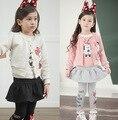 Primavera menina de minnie crianças boutique de roupas infantis em nome de a tz107