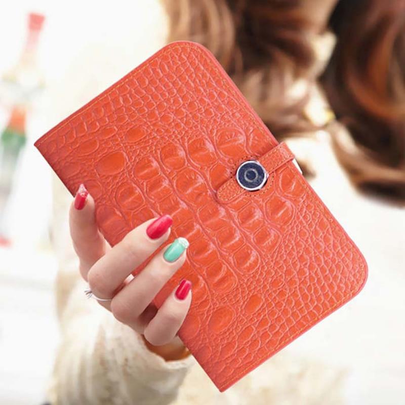 Bestbaoli Leather Women's Wallet Fashion Crocodile pattern Ladies Purse Colorful Long Money Bag 2018 Popular Cash Pocket Clutch