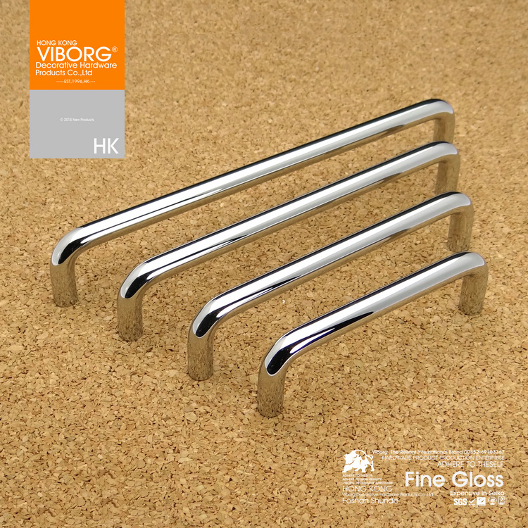 (3 pieces)96mm VIBORG Deluxe Solid Sus304 Stainless Steel Modern Kitchen Cabinet Cupboard Door Drawer Handles Pulls 2 pieces viborg top quality sus304 stainless steel inset hinge soft close self closing cabinet cupboard door hinges inset