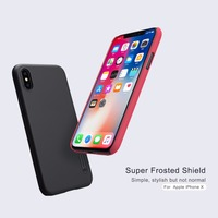 10pcs Lot Wholesale NILLKIN Super Frosted Shield Case For IPhone 8 Case 5 8 Inch PC