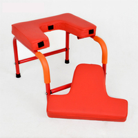 Household Fitness Yoga assisted Inverted Chair Home Gym Bench Handstand Stool With Soft Mat 150kg Bearing