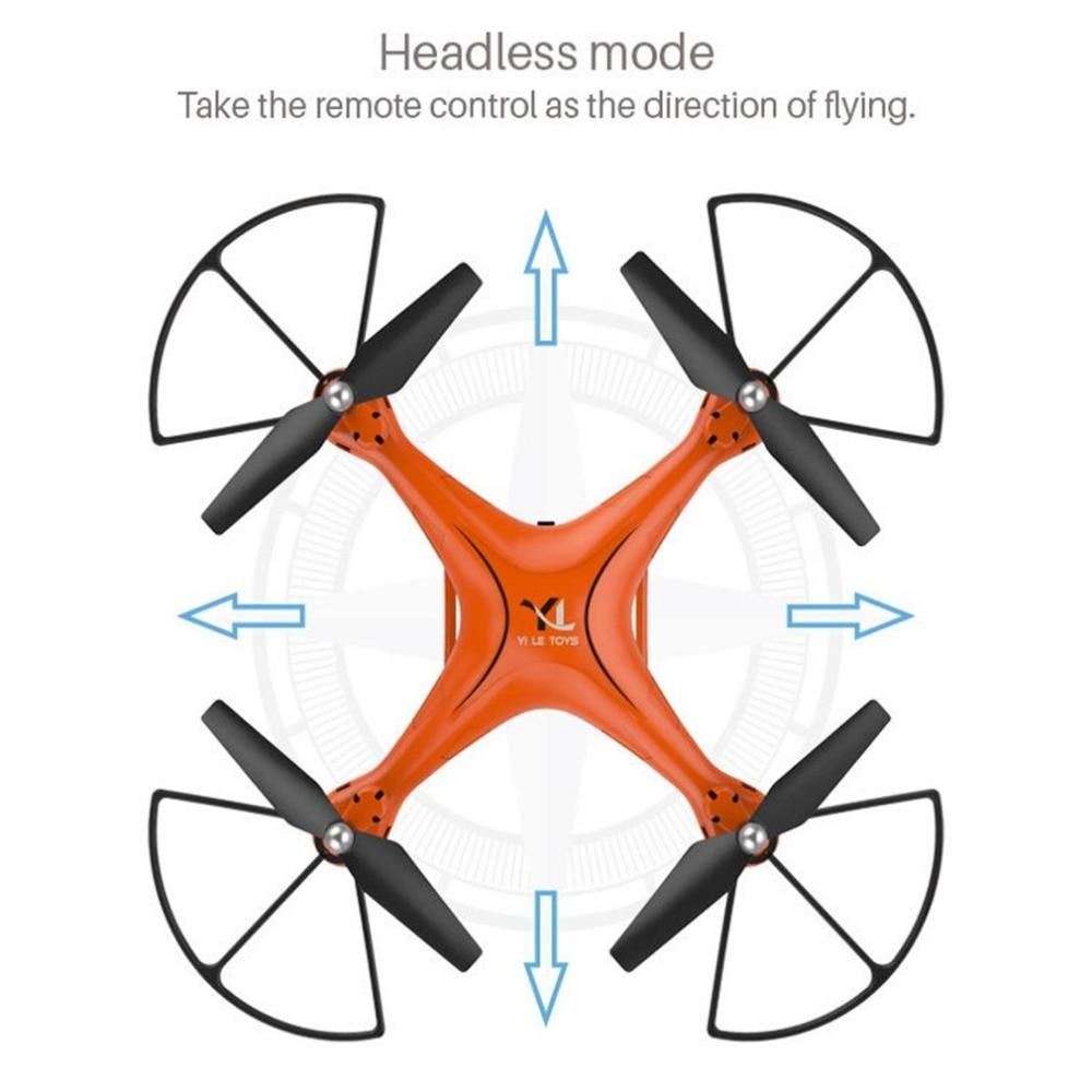 X10 2.4 ghz Quadcopter WIFI Della Macchina Fotografica FPV Senza Testa Modalità di Una Chiave di Ritorno il Mantenimento di Quota RC Drone Telecomando Aereo Giocattoli
