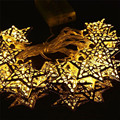 outdoor garden lighting string led 1.2M 10LED Silver Metal Iron Wedding Christmas Light u70217