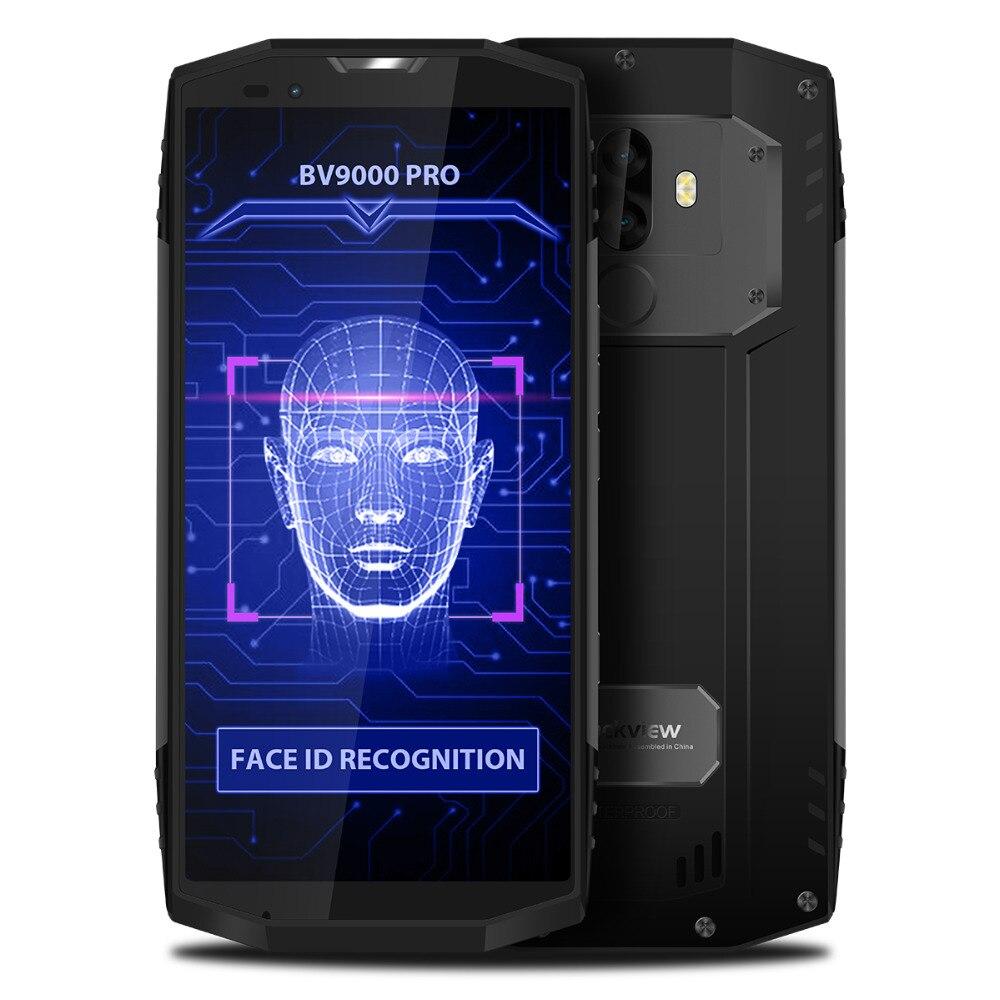 Blackview BV9000 Pro 4G Phablet 5.7 pouces Android7.1 MTK6757CD Octa Core2.6GHz 6 GO de RAM 128 GB ROM 13.0MP 5.0MP double Arrière Caméra NFC