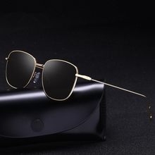 Vintage Polarized Sunglasses Men Brand Designer 2019 Mirror Black Retro