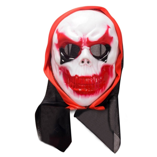 2b75ad2660f US $3.89 |Funny Scary Halloween Mask Adult Full Head Face Party Masks Latex  Skull Mask Fancy Dress Party Cosplay Costume Theater Toy-in Party Masks ...