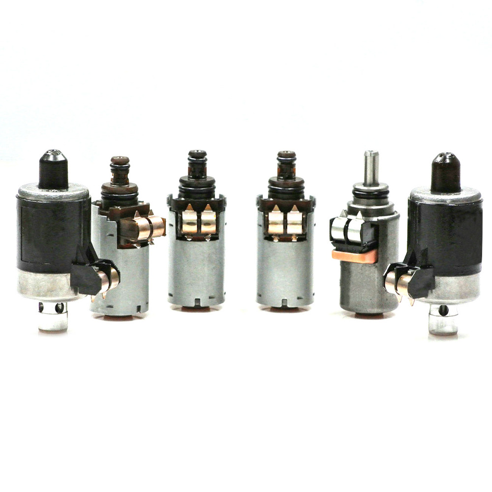 Get This 6x Solenoids Set For Mercedes Benz 5 Speed Automatic 2000 E320 Fuel Filter Transmission 7226