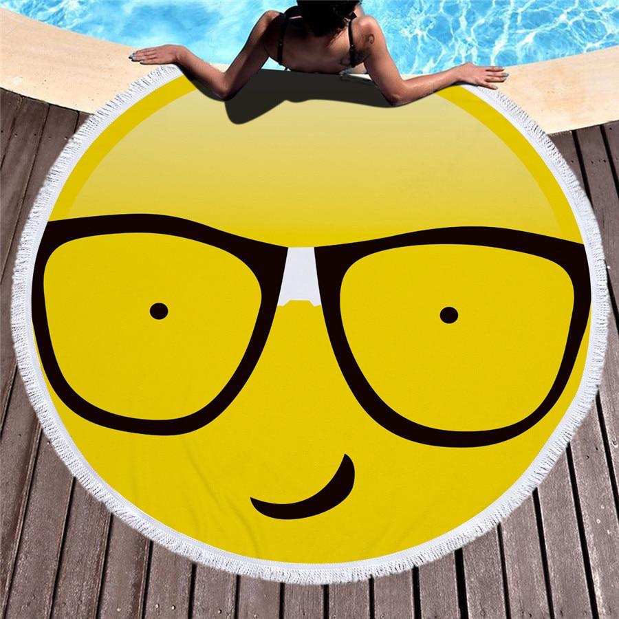 HTB1mFiHmTnI8KJjy0Ffq6AdoVXaD - Emoji Beach Microfiber Towel - MillennialShoppe.com | for Millennials