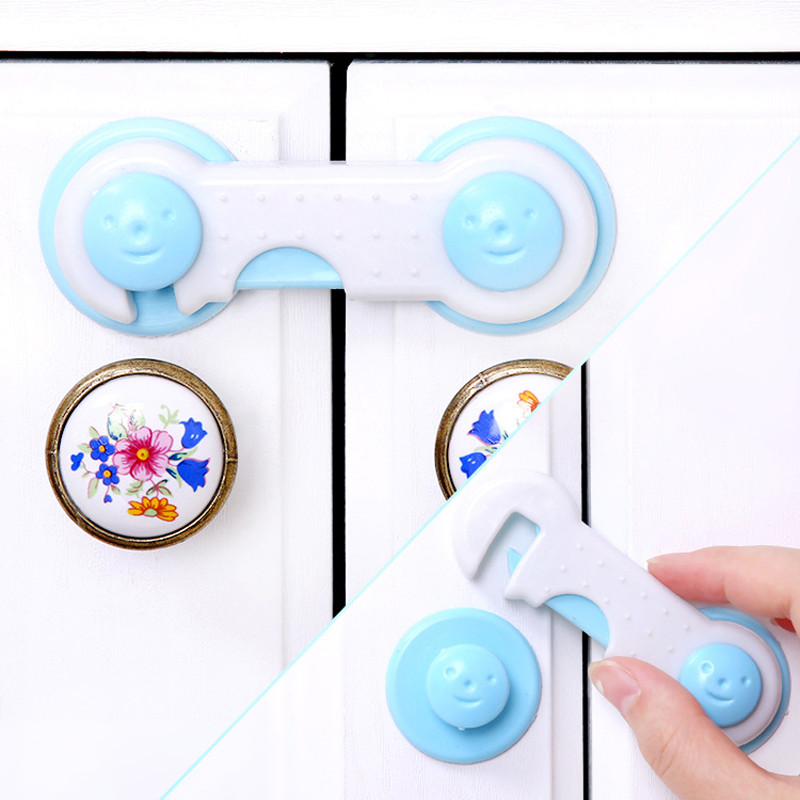 1 Pcs Baby Drawer Lock Children Security Protection For Cabinet Toddler Child Safety Lock Refrigerator Window Closet Wardrobe
