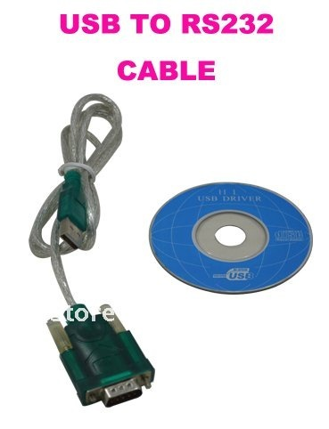 USB TO RS232 Cable Multifunction With USB Driver For Walkie Talkie Programming Or Computer/Laptop
