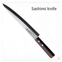 Envío Gratis Acero Inoxidable YiLang Salmón Sashimi Sashayed Cuchillo Cocinero Cuchillo de Filete De Pescado Crudo Cuchillos de Cocina cuchillos De Cocina De Regalo