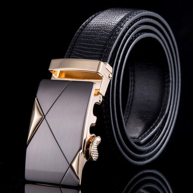 2015 designer belts men high quality Genuine leather belts for men strap male fashion automatic buckle cinto WN016