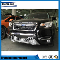 Car accessories luxury front bumper guard for forester 2016