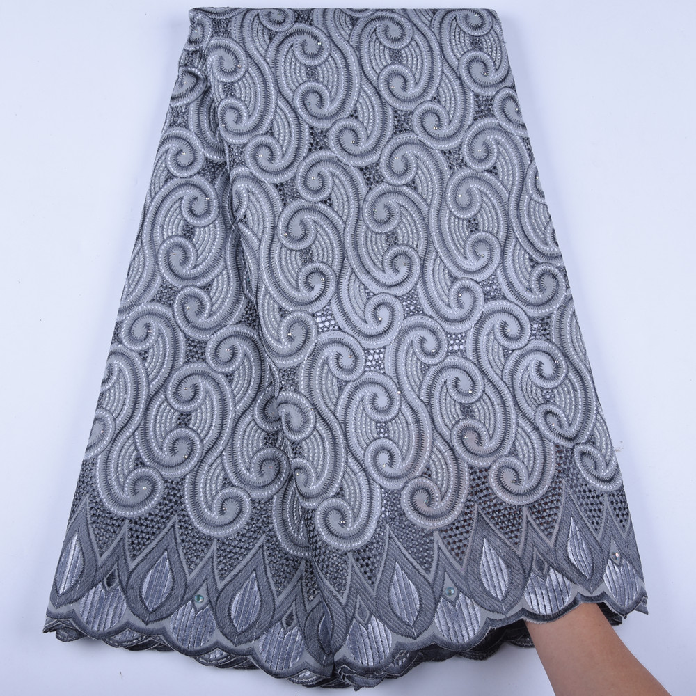 Mens Wear Swiss Voile Lace In Switzerland African French Voile Lace Fabric High Quality Cotton Nigerian