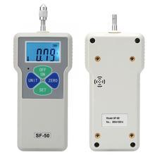 SF-50 Портативный с двухтактными метр тестер Цифровой Динамометр 50N/принимает массу весом до 5 кг/11lb 100-240 V