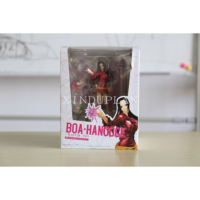 One Piece Japanese Anime Female Emperor Boa Hancock Action Figure Toy