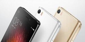 Image 3 - الأصلي ثلاثية الأبعاد الزجاج مع شعار عودة جراب هاتف شاومي mi 5 5.15 بوصة الإسكان لوحة باب البطارية ل Xiao mi mi 5 البطارية الغطاء الخلفي