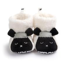 Baby Boots 2017 Lovely Toddler Baby Boy Girl Soft Sole Snow Boots Soft Crib Shoes Boots D40