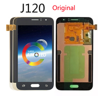 Original OLED TFT Lcd for Samsung Galaxy J120 J1 2016 F120F Duos LCD Display Screen Touch Digitizer Assembly