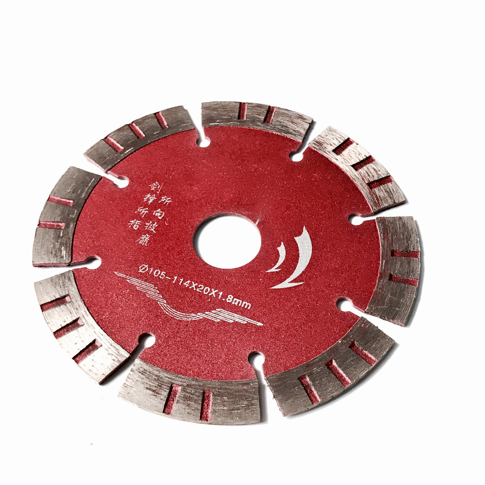 Free Shipping 1pc Of Home Decoration Quality Diamond Saw Blades 114*20*12mm For General Purpose Cutting Marble/concrete/tile Etc