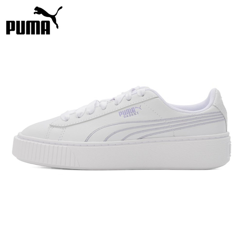 Original New Arrival  PUMA Women's Platform Twilight Skateboarding Shoes Sneakers