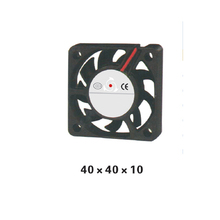5pcs/ lot 40*40*10mm DC 12V/24V Axial Fan cooling  Fan For PC or Electric Cabinet XFS4010