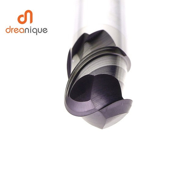 1pc ball nose end mill 2 flutes R0.5-R6.0 cnc end milling cutter for metal face and slot machining hrc50 coated end mills 5