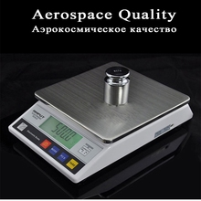 LCD Electronic Scale Digital Precision Industrial Balance Scale for Laboratory Gold Jewelry Gram Weight Platform 7.5kg X 0.1g цены онлайн