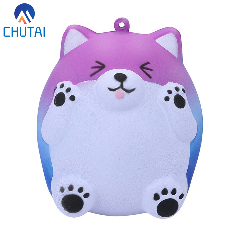 Kawaii Smile Bear Squeeze Toys Slow Rising Cream Scented Stress Reliever Squishy Toys Antistress Child Kid Baby Toys 10*8*7 CM(China)