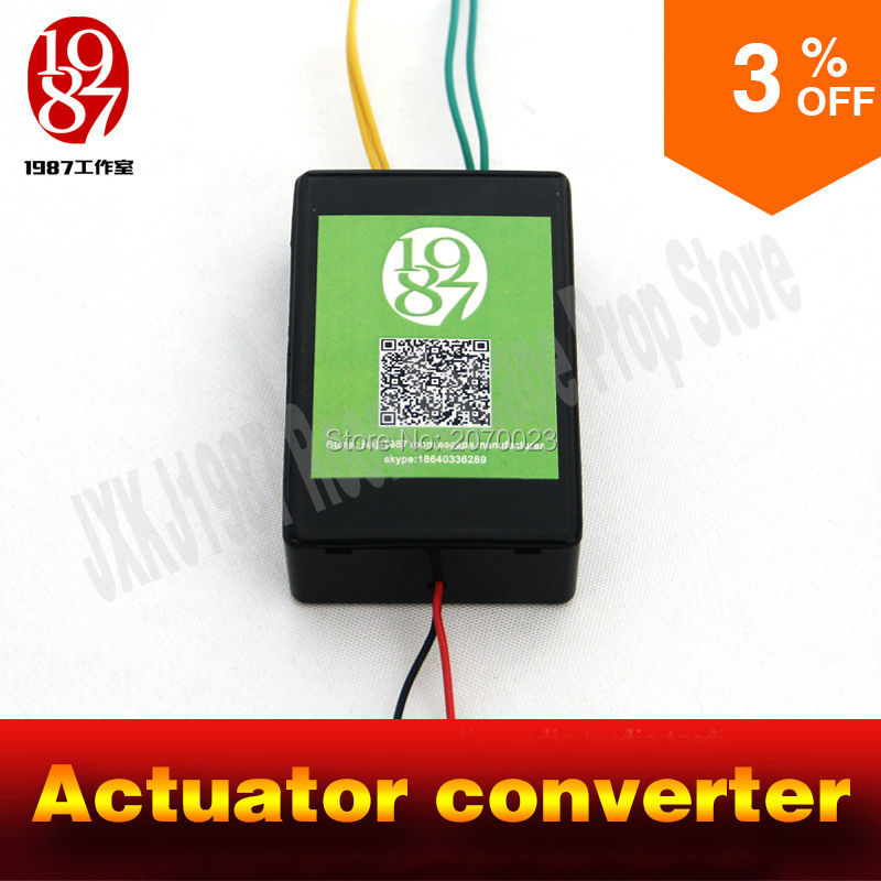 Actuator converter Real life room escape prop  Adventurer props power up amazing convertor to control linear actuator Chamber power life