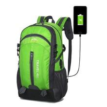 40L Waterproof Backpack Hiking Bag Cycling Climbing Rucksack Laptop Backpack Travel Outdoor Bag Anti Theft Sports Bag