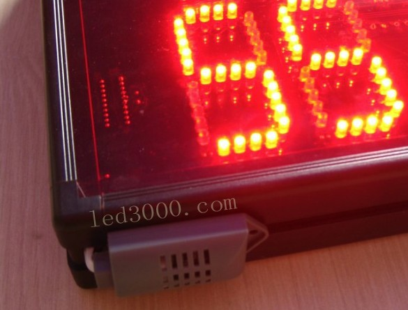 large size indoor temperature and humidity led display,led clock,led - Home Decor - Photo 6