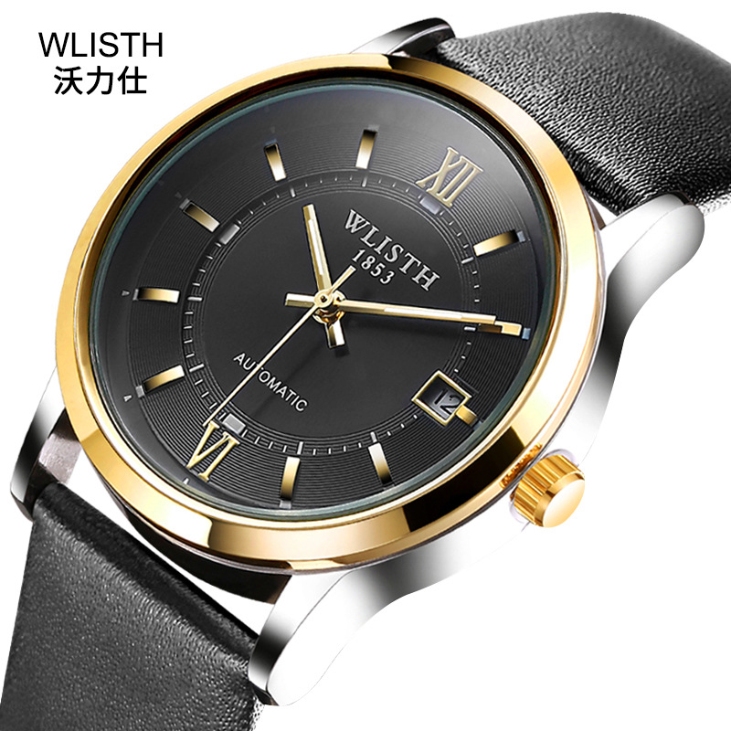 Wristwatch Mechanical-Watch Hollowout Business Waterproof Automatic ZF9958 Double-Sided