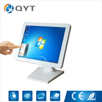 15 Inch Desktop Lcd Computer Intel J1900 2 0GHz Touch Screen 1024x768 All In One PC