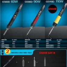 Бесплатная доставка A-BF GS60D 60 Вт электрический паяльник KIT-B