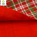 ShuanShuo Composite Fabric For New Year Christmas DIY Decoration Hat Bag Bell Doll Stocking Cloths A Half Meter 145*50cm