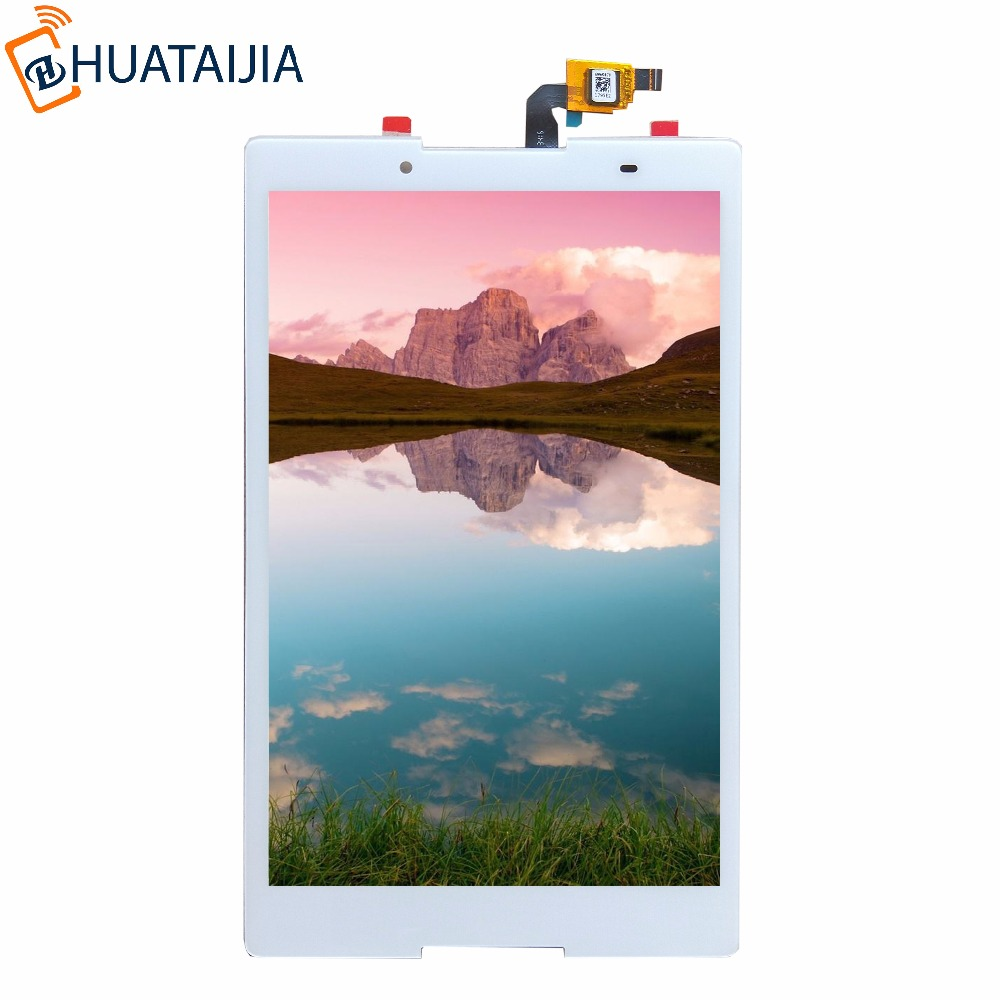 8 Touch Screen with lcd AP080205 For Lenovo Tab 2 A8-50 A8-50F A8-50L A8-50LC LCD Display Touch Screen Assembly free shipping original a8 50 a5500 hv claa080wq05 b080ean02 2 lcd screen external screen touch screen