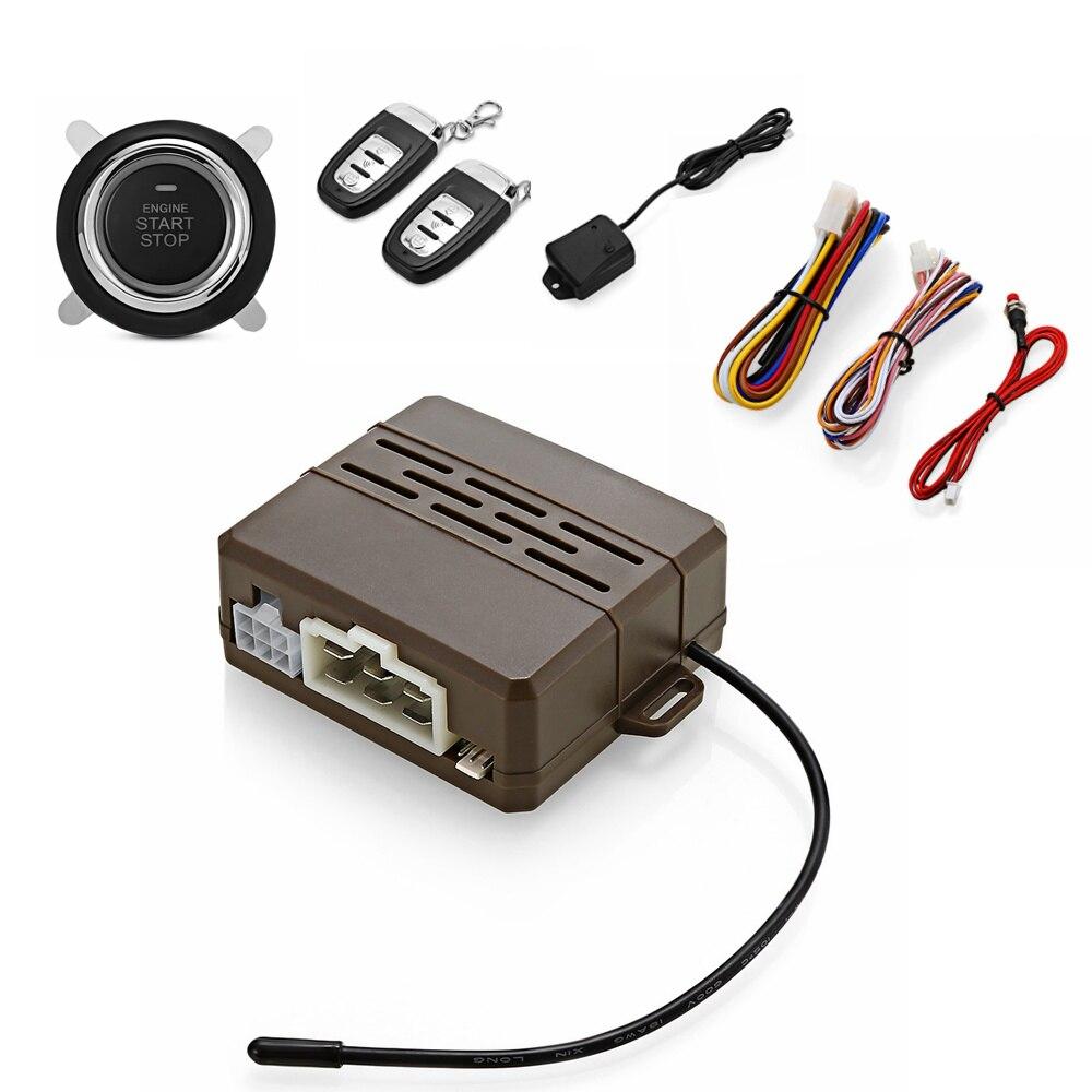 Универсальный В 12 в автомобильный пульт дистанционного управления Центральный замок без ключа вход комплект Авто противоугонная система в...