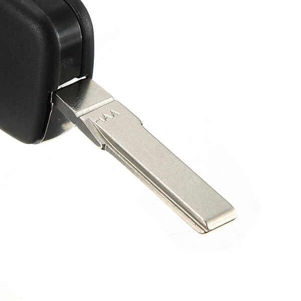 Yeni 3 Düğme Uzaktan Anahtar Fob Durumda Kabuk ve Bıçak HAA Audi A2 A3 A4 A6 A8 TT