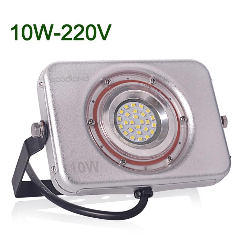 LED Flood Light 10W Outdoor LED Floodlight IP67 Waterproof LED Reflector  Spotlight Bridge Garden Light SMD2835