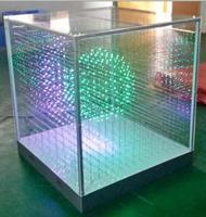 Лидер продаж SMD1616 3 в 1 16*16*16 = 4096 воксела SD карты укладки 3D светодио дный куб Свет, светодио дный Дисплей для дискотек вечерние выставка бар клу