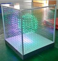 Hot Sale SMD1616 3 in 1 16*16*16=4096 Voxel SD Card Laying 3D LED Cube Light,LED Display for Disco Party Exhibition Bar Club