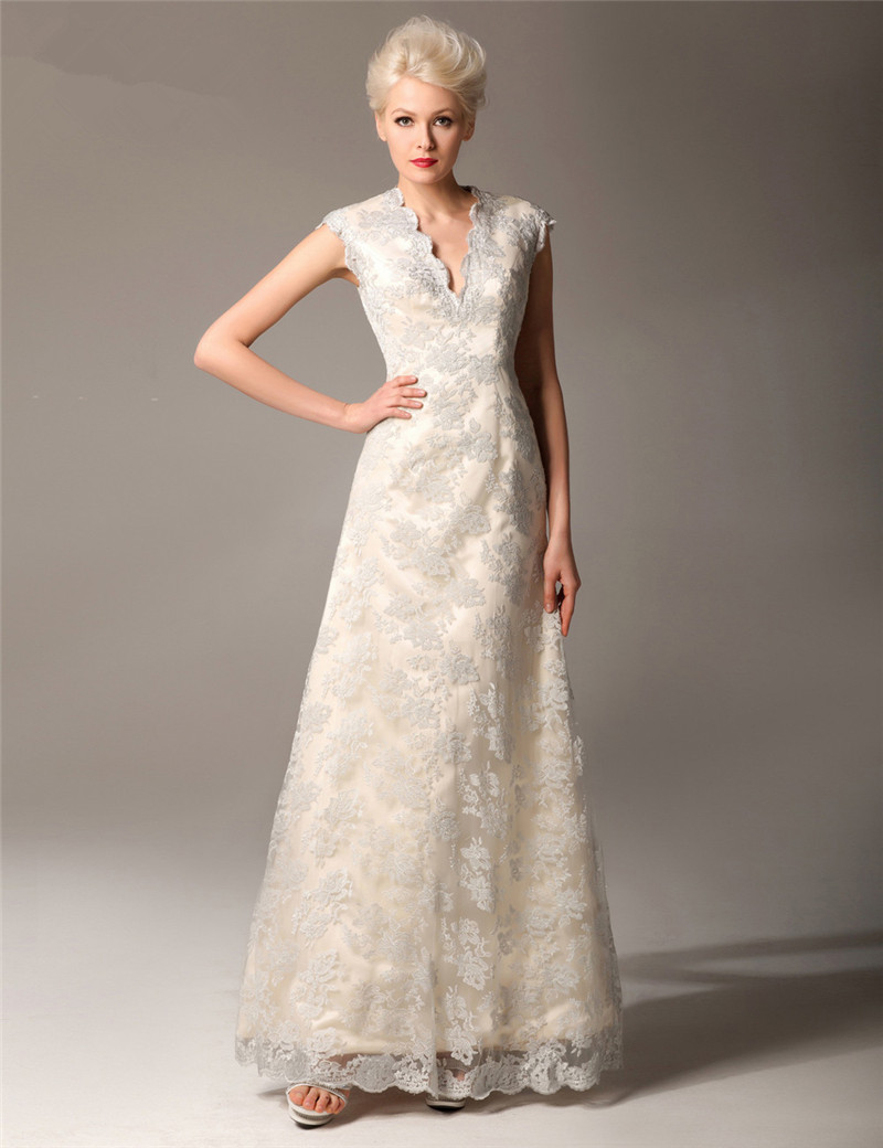 Buy sexy lace mother of the bride dresses for When to buy wedding dress
