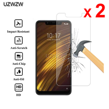 2pcs For Xiaomi Pocophone F1 Premium 0.26mm Tempered Glass S