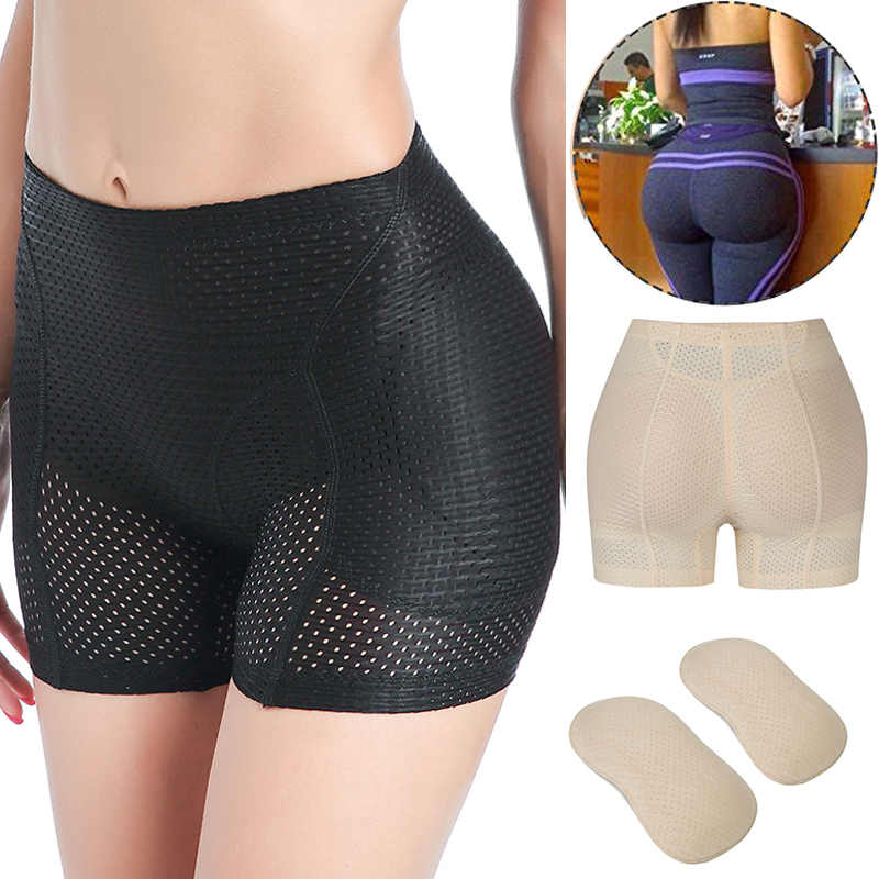 Butt Lifter Hip Enhancer Pads Underwear Shapewear Padded Control Panties Shaper Booty Fake Pad Briefs Boyshorts Push Up Hip