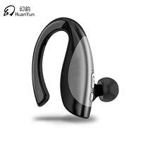 Huan Yun Bluetooth Earphone Wireless Bluetooth Headset Stereo Ear Hook Style Bass Handfree HD Calling With