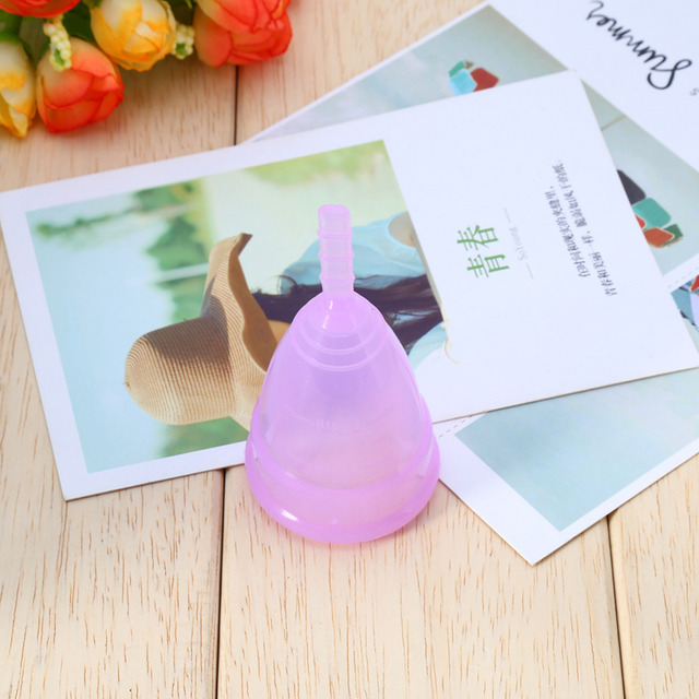Hot Sale 1pcs Medical Grade Silicone Menstrual Cup for Women Feminine Hygiene Product Health Care Period Month Anner Cup