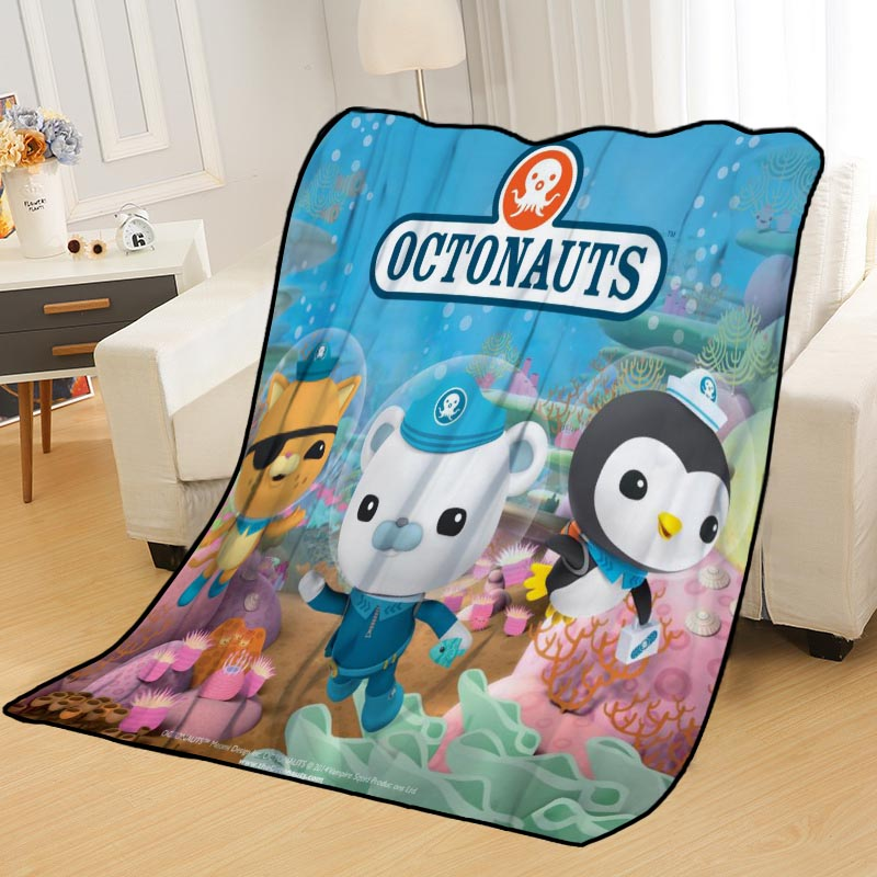 Personalized Blankets Custom Octonauts Blankets For Beds Soft DIY Your Picture Decoration Bedroom Throw Travel Blanket